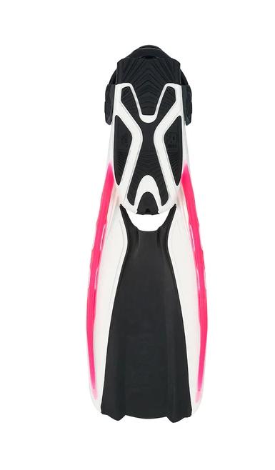 Fins, Phazer, White/pink, Medium