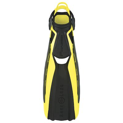 Fins, Phazer, Yellow, Large